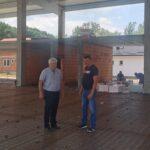 ПРИБОЈ - напредују радови на изградњи пословно-производне хале у Прибоју